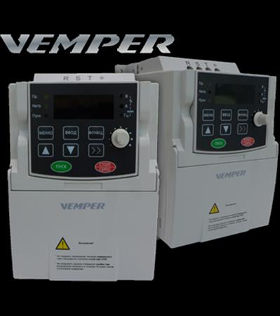 Изображение для категории Преобразователи частоты VEMPER