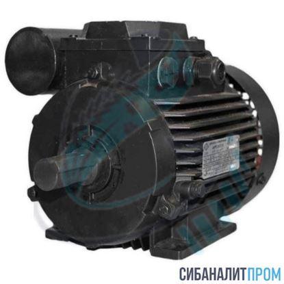 Изображение Электродвигатель АИРЕ 63 B2 (0,55кВт/3000об/мин)