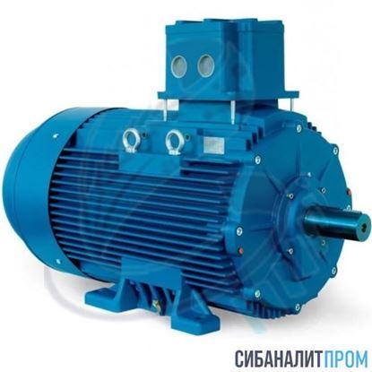 Изображение Электродвигатель взрывозащищенный АИМУ 63 В4 (0,37кВт/1500об/мин)