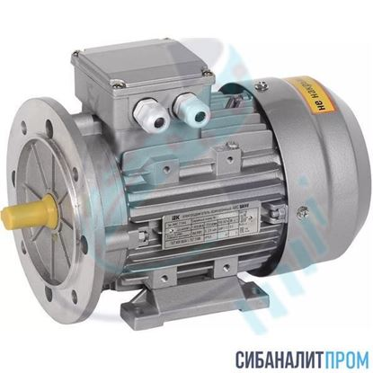 Изображение Электродвигатель АИС 63 B4 (0,18кВт/1500об/мин)